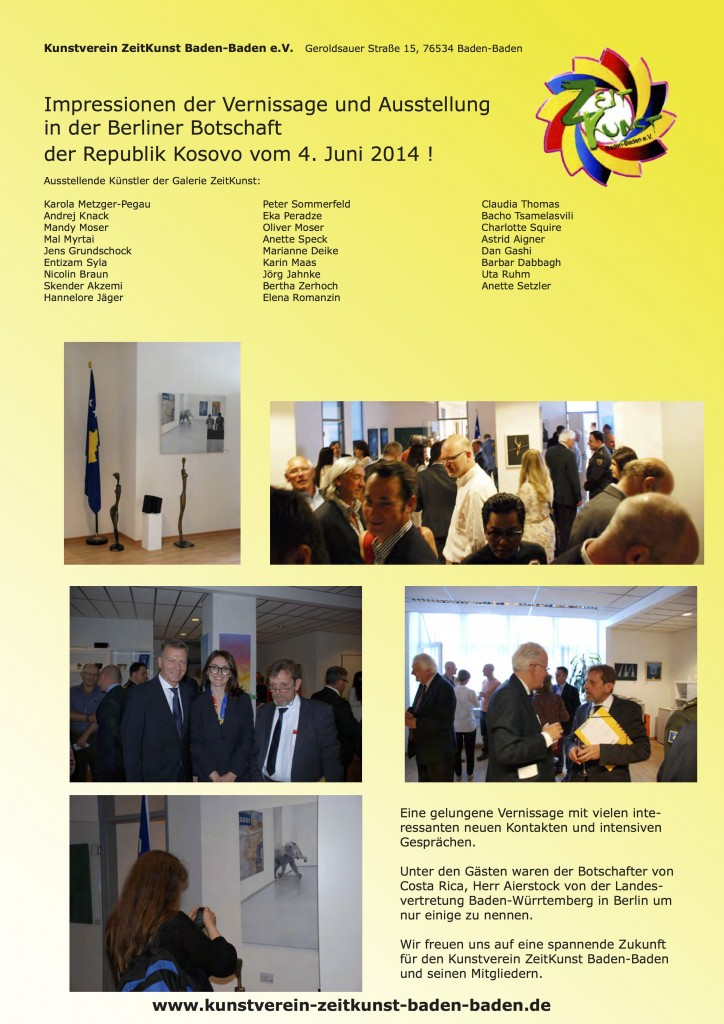1406 Impressionen Botschaft Kosovo