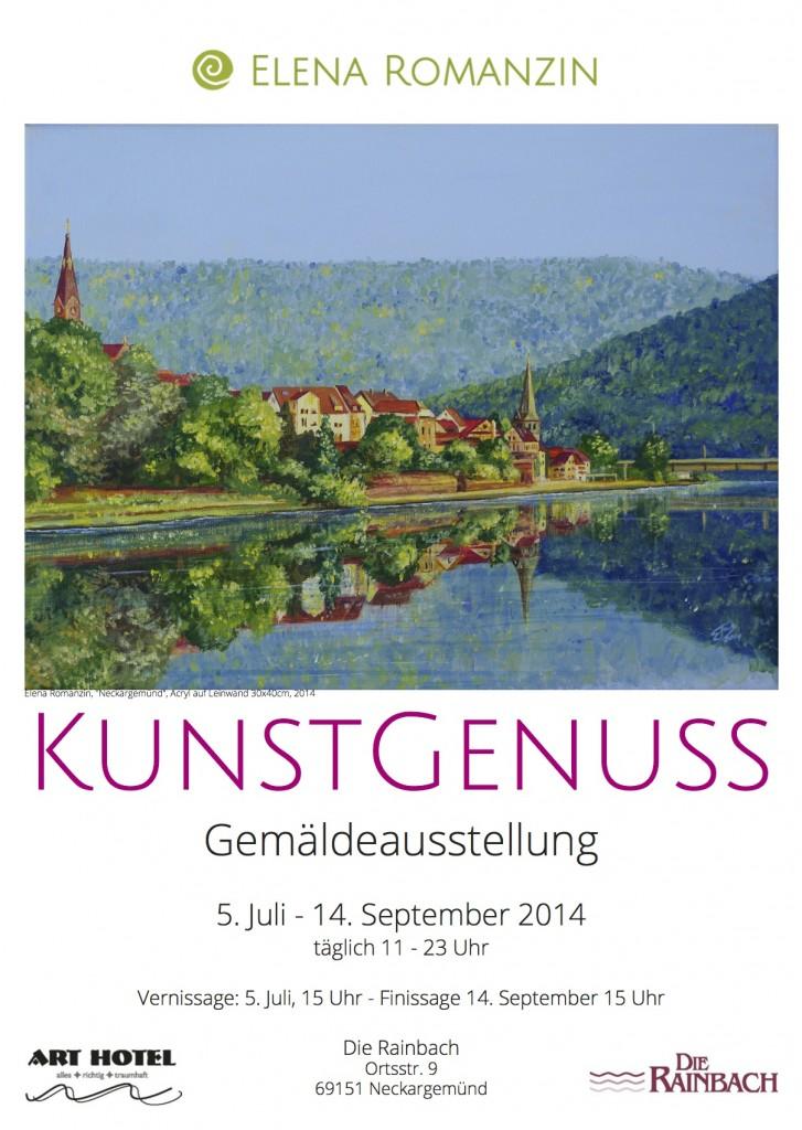 KunstGenuss Plakat