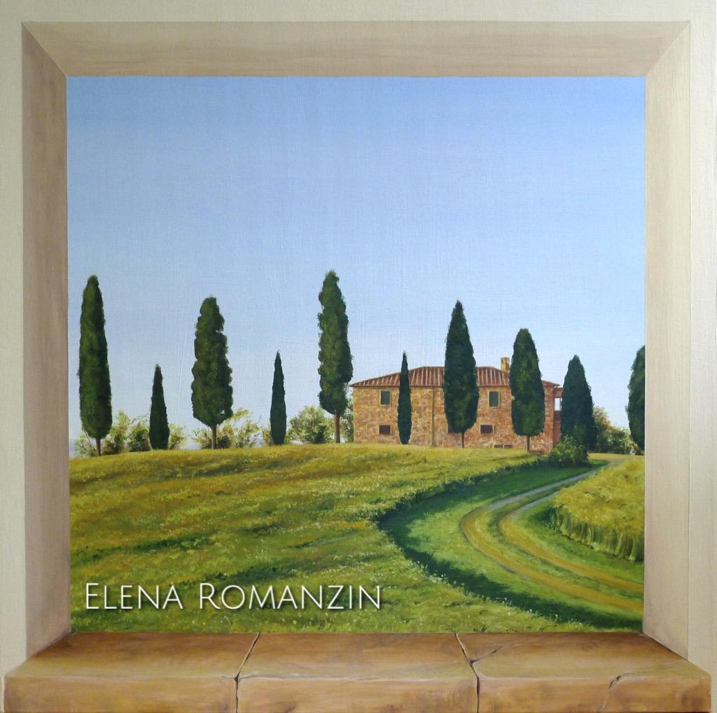 16007 Toscana Trompe l'œil